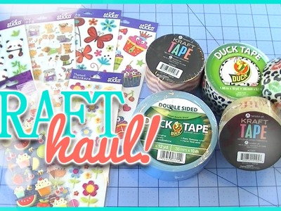 CLEARANCE DUCT TAPE! Walmart Craft Haul!