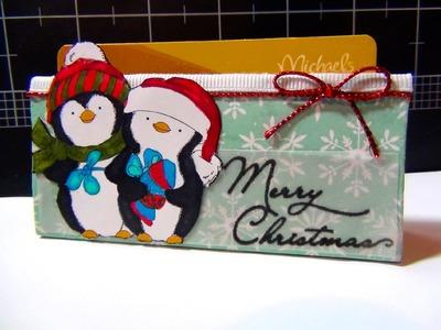 Craft Challenge #1 - Tissue Roll Gift Card Holder