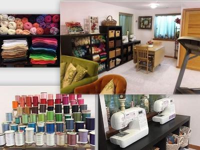 Craft Room Tour!!
