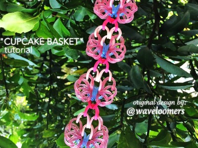 CUPCAKE BASKET Hook Only bracelet tutorial