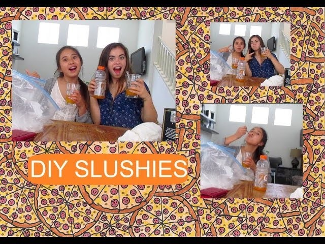 DIY Slushies for the Summer!! (very easy)