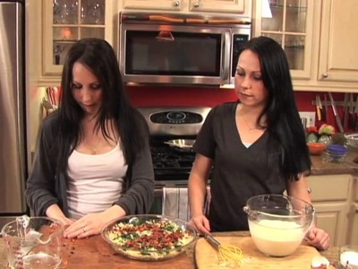 Gluten Free Crustless Quiche, Double Take Diets Episode 1 (Part 1 of 2)