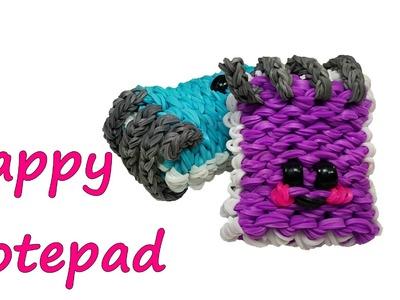 Happy Notepad Tutorial by feelinspiffy (Rainbow Loom)