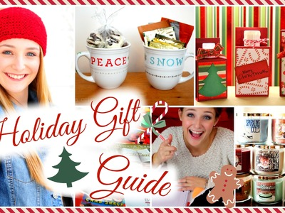 HOLIDAY GIFT GUIDE: Affordable, DIY & on a Budget! ♡