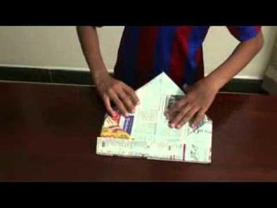 How To  Create  a Transforming paper cap.flv