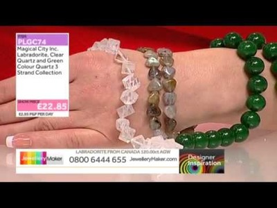 [How to create Polymer Clay Jewellery] - JewelleryMaker DI 25.4.14