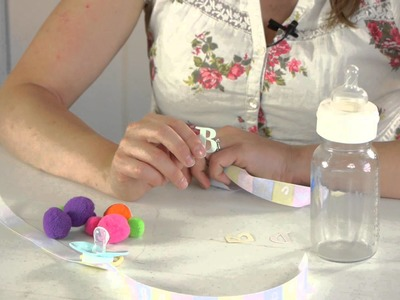 How to Decorate a Baby Bottle : Crafts for Kids