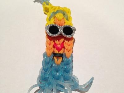 How to Make a Cinderella Princess Bracelet - Rainbow Loom