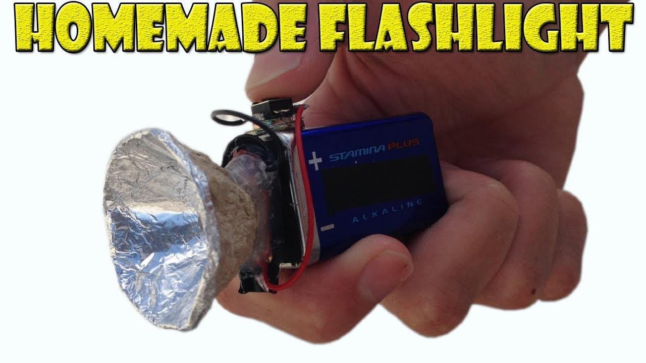 How to Make a Homemade Mini Flashlight