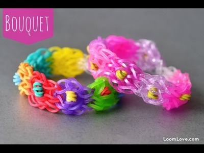 How to Make the Rainbow Loom Bouquet Bracelet