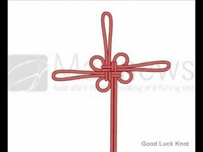 How to Tie Good Luck Knot