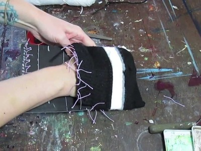 How To Weave A Pouch: Step Two