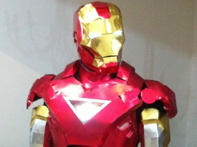 Ironman Homemade costume   2013
