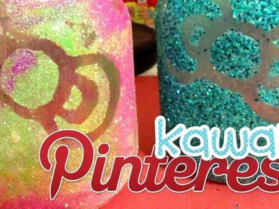 Kawaii Pinterest: DIY HK Glitter Mason Jar