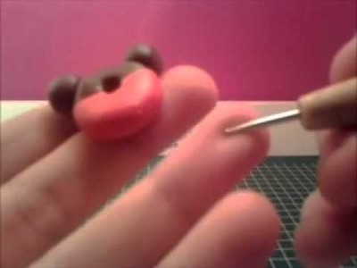 Mickey mouse donut Re-ment polymer clay tutorial
