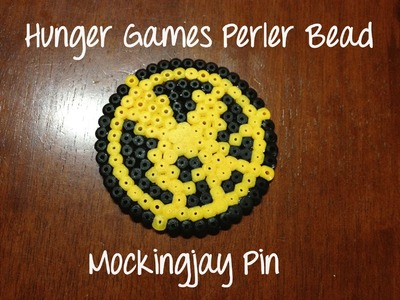 Mockingjay perler bead creation