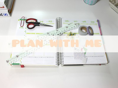 Plan With Me ❀ Decorating My Planner #19