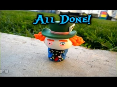 Polymer Clay The Mad Hatter Tutorial