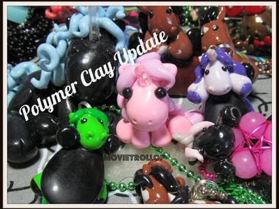 Polymer Clay Update: PONY! HORSE! UNICORN! AHHH