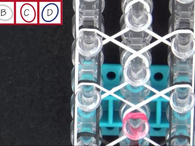 Rainbow Loom® Confetti Criss Cross Bracelet