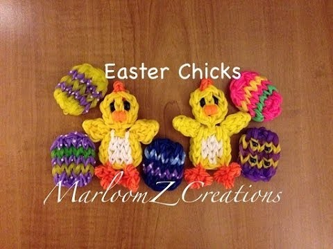 Rainbow Loom:Easter Chicks: How To