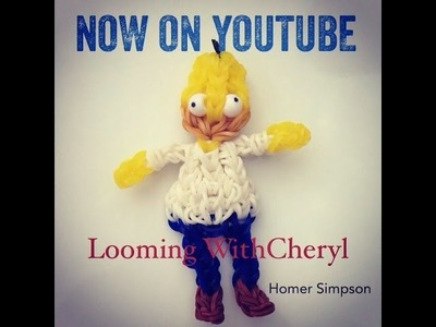 Rainbow Loom HOMER SIMPSON - The Simpsons - Looming WithCheryl