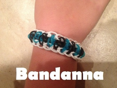 Rainbow Loom NEW design Bandanna