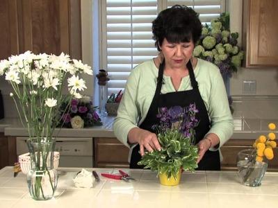 Simple Banquet Centerpiece Ideas With Flowers .  : Floral Arrangements for Weddings & Centerpieces