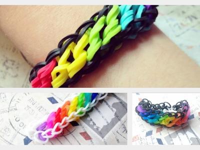 Tutorial na bransoletke Swirl - Rainbow Loom