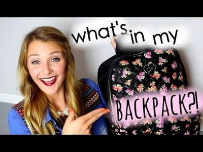 What's In My Backpack?! ♡ SENIOR YEAR ♡