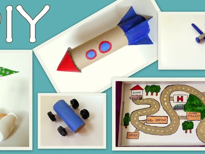 5 Craft Ideas for Kids ( Boys Edition) -At Home- Fun and Easy | by Fluffy Hedgehog