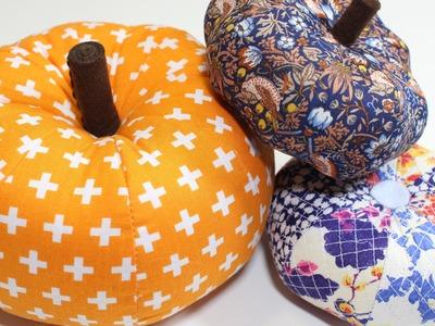 DIY: Segment Pumpkin. Pin Cushion Tutorial
