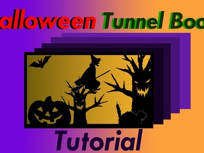 Halloween Tunnel Book - Diorama Craft Tutorial