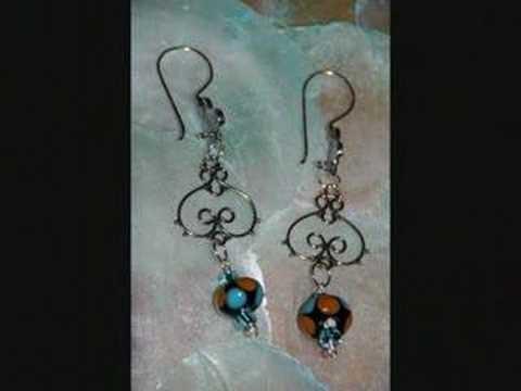 Handmade silver wire jewelry