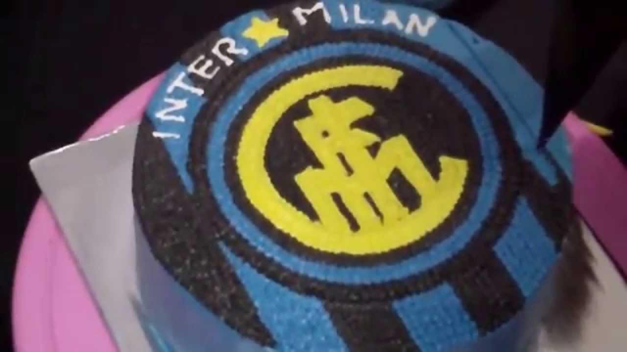 How to Easy Decorate Inter Milan Logo Cake