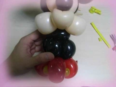 How to twist a balloon mouse