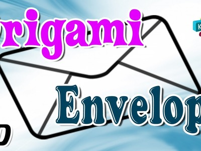 Origami - How To Make ENVELOPE - Simple Tutorials In English
