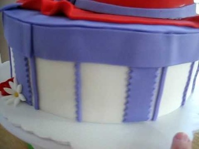 Red Hat scoiety cake