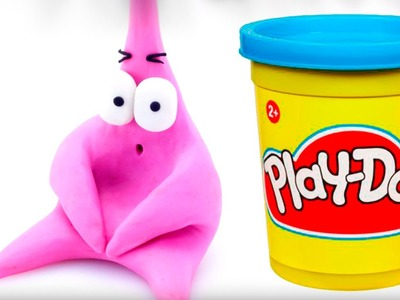 Spongebob Patrick Play doh STOP MOTION playdo video