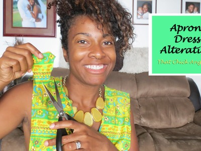 Apron Dress Alteration DIY with That Chick Angel
