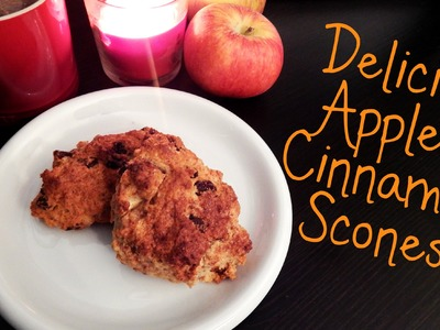 Delicious Apple and Cinnamon Scones How To Tutorial ¦ The Corner of Craft