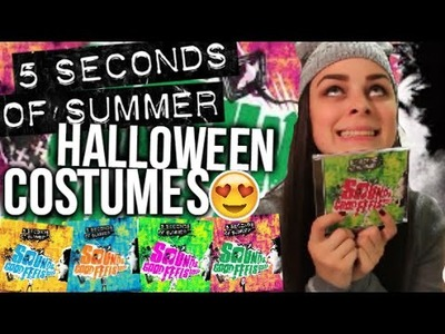 DIY 5SOS Halloween Costumes! Sounds Good Feels Good Inspired!