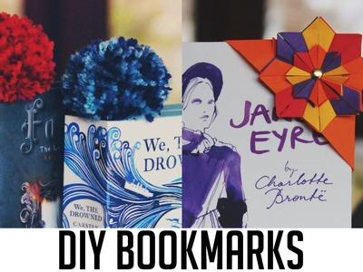 DIY Bookmarks | Origami & Pom Pom