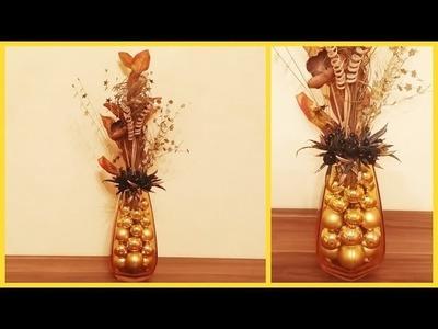 DIY - Christmas decoration idea from Christmas balls
