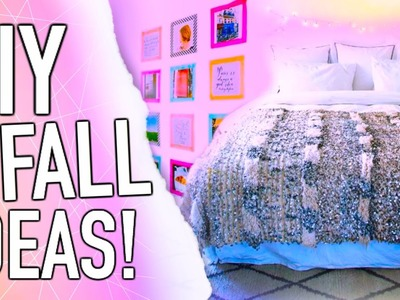 DIY Fall inspiration! Room decor + Outfits!