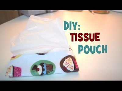 DIY Felt Tissue Pouch | Travellers gift | How to