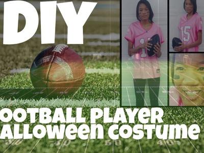 DIY Football Players Halloween Costume
