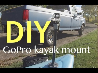 DIY: GoPro Kayak Mount - Very easy to build for around $10