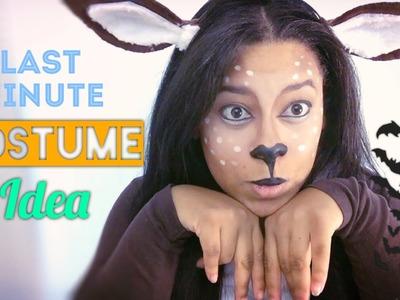 DIY Last Minute Halloween Costume | Baby Deer