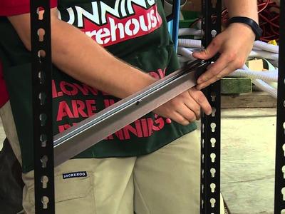 How To Build Garage Shelves - DIY At Bunnings